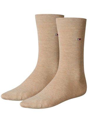 Tommy Hilfiger Set van 2 paar klassieke sokken Beige