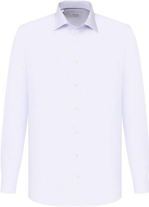 Eton Eton shirt lm dress Wit 100000561 01