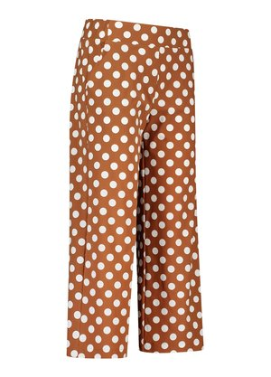 Studio Anneloes Bowy big dot trousers Bruin