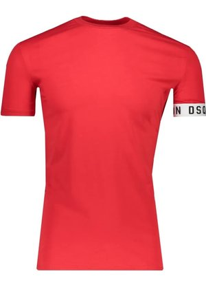 Dsquared2 T-Shirt Red white