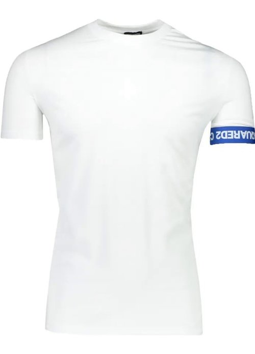Dsquared2 Dsquared heren t-shirt km Wit d9m3s3550 100-white