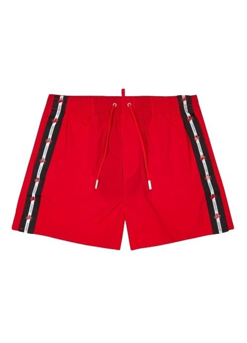 Dsquared2 Dsquared heren Zwembroek Rood d7b643660 - 600-rood
