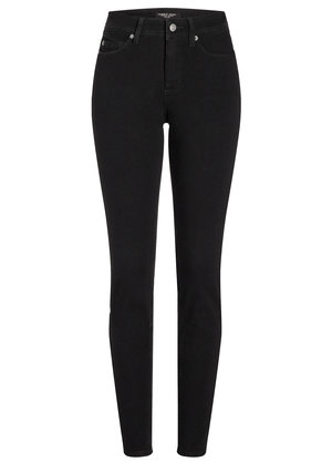 Cambio Skinny Fit Jeans Zwart