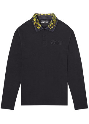 Versace Jeans Couture Polo Zwart