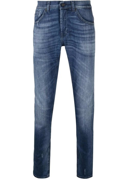 Dondup Dondup george skinny jeans blauw up232-ds0265u-br8 - 800