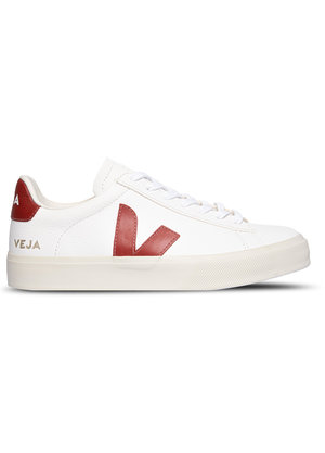 Veja Campo Sneakers Wit Rood