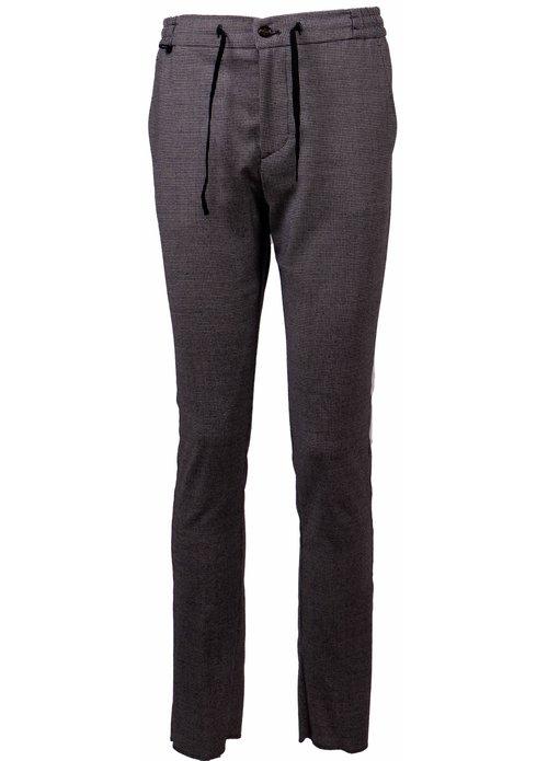Berwich Berwich pantalon grijs mz1853x - white