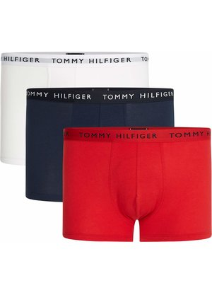 Tommy Hilfiger Boxershorts 3-pack Rood Wit Blauw
