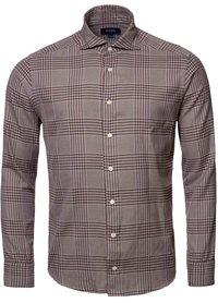 Eton Eton shirt slim bruin 100003098 35