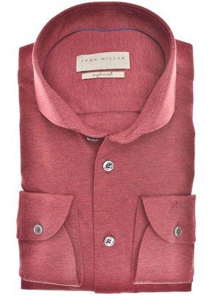 John Miller Overhemd Rood