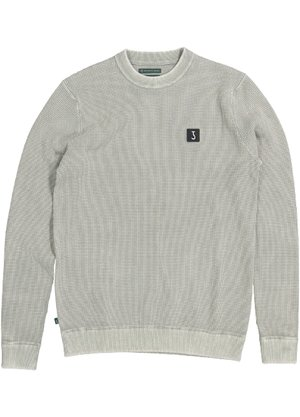 Butcher of Blue Square Crew Sweater Groen