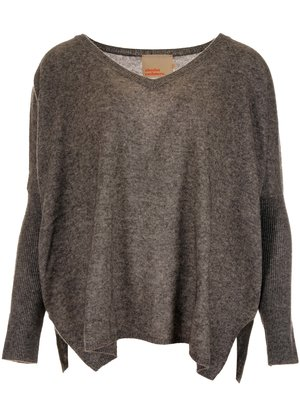Absolut Cashmere  Camille Trui Donkergrijs