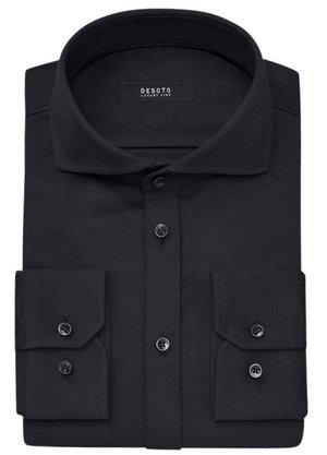 Desoto Overhemd Zwart