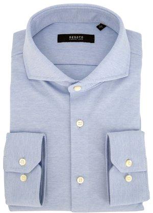 Desoto Luxury Hai Overhemd Lichtblauw