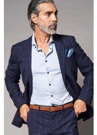 Desoto Desoto luxury hai overhemd lichtblauw 30008-30 507