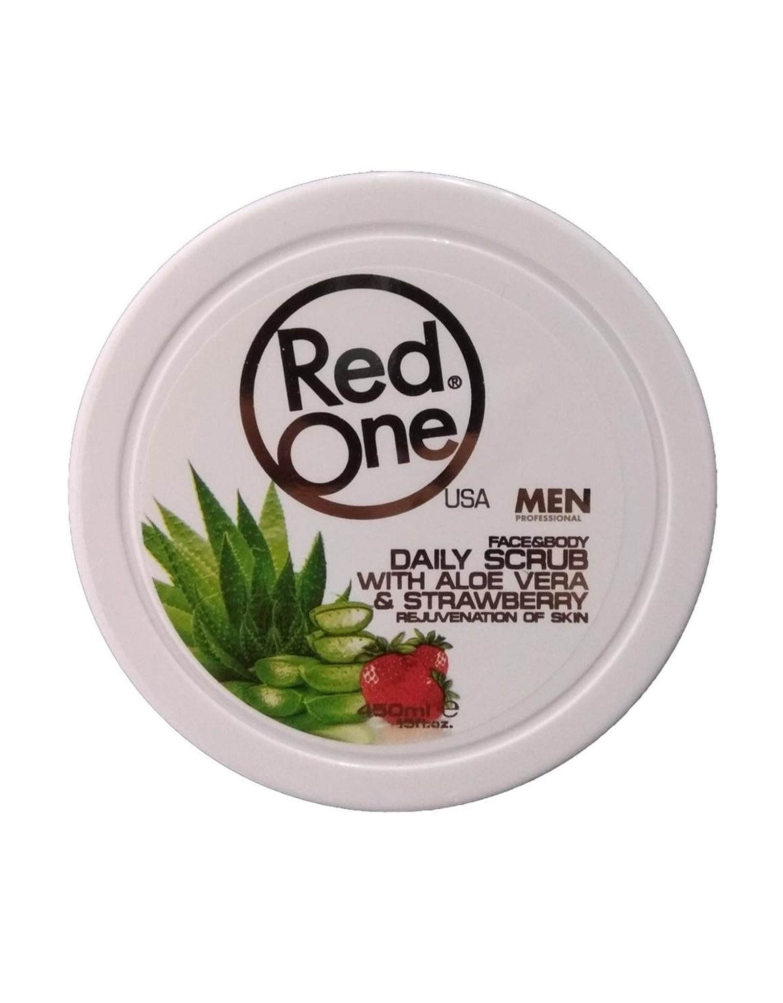 Red One Face & Body Scrub