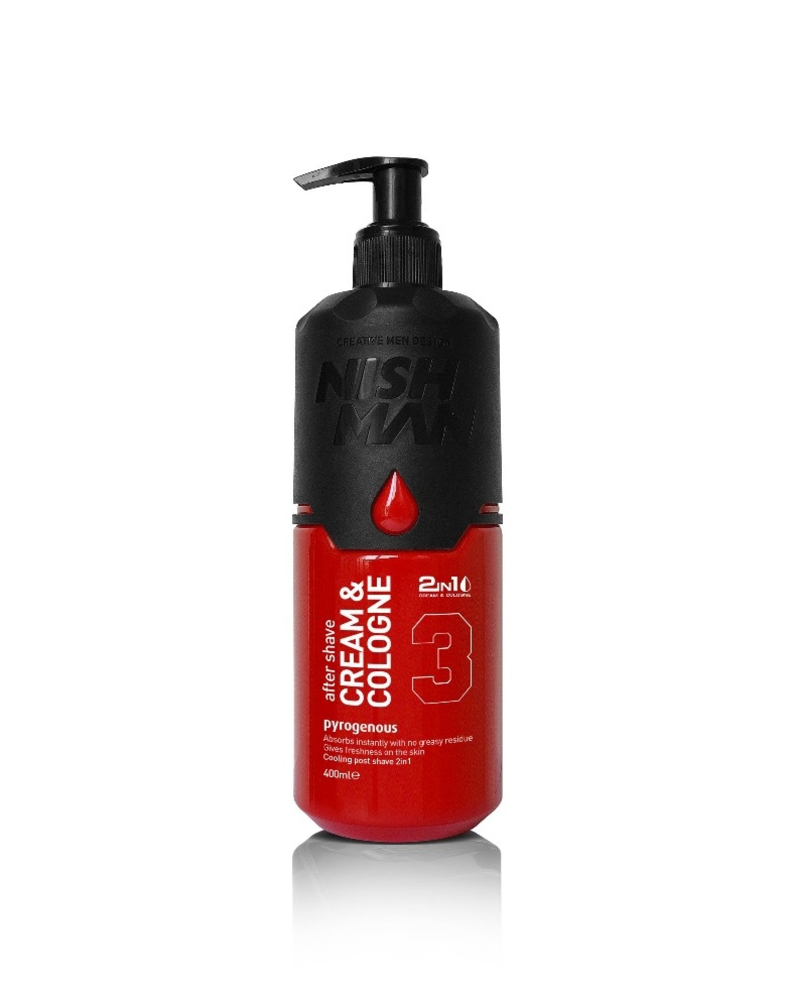 Nishman Cream Cologne After Shave 400ml
