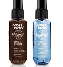 Nishman Beard & Mustache Spray Adonis & Genius