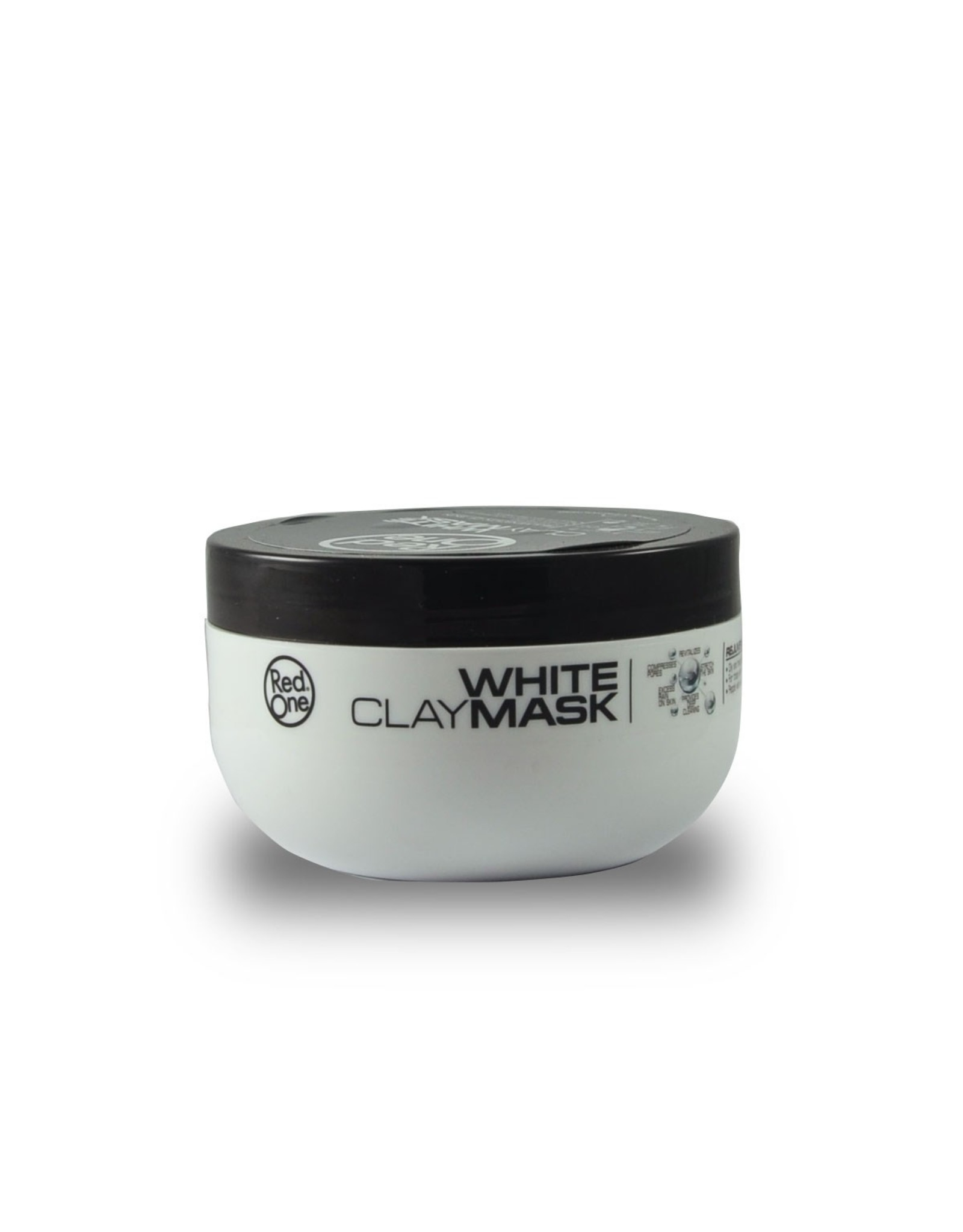 Red One Clay Mask Mint & White Mask
