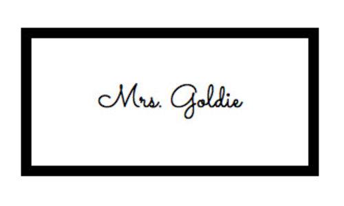 Mrs. Goldie
