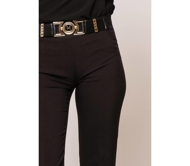 classic pants met riem