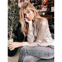 Clashy - Shiny blouse