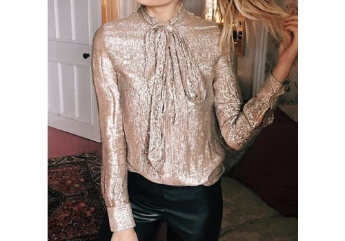 Clashy Clashy - Shiny blouse