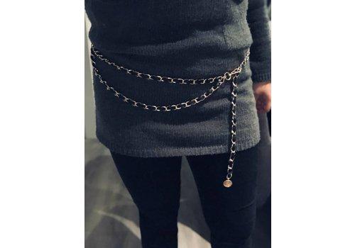 Clashy Handmade chain belt