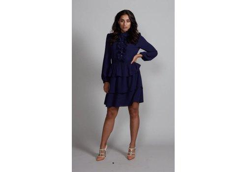 Jacky Luxury Jacky Luxury - Dress Ruffle navy
