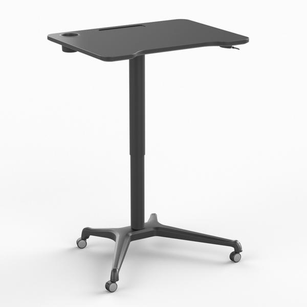 Klein zit-sta bureau - Single Leg  Desk