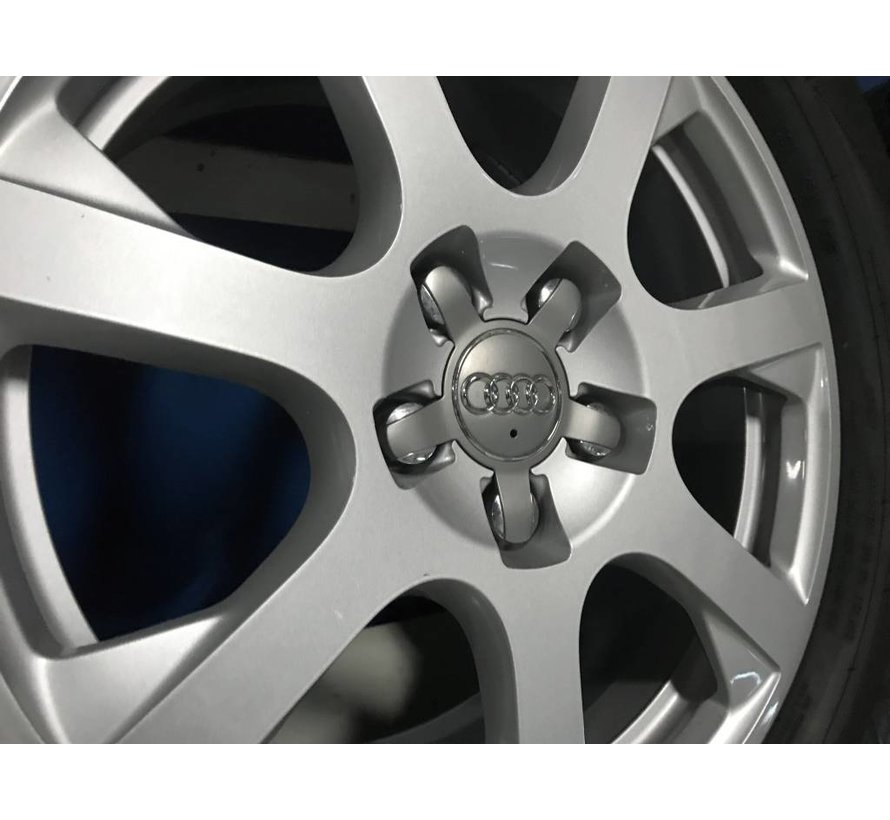 Audi Q5 zgan 7 spaak velgen + winterbanden Dunlop