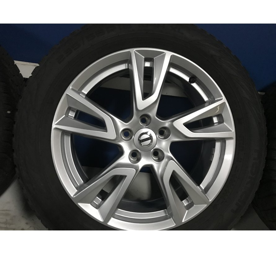 "Volvo 18"" 5-Double Spoke Silver velgen + Continetal zomerbanden XC60 > 2016"
