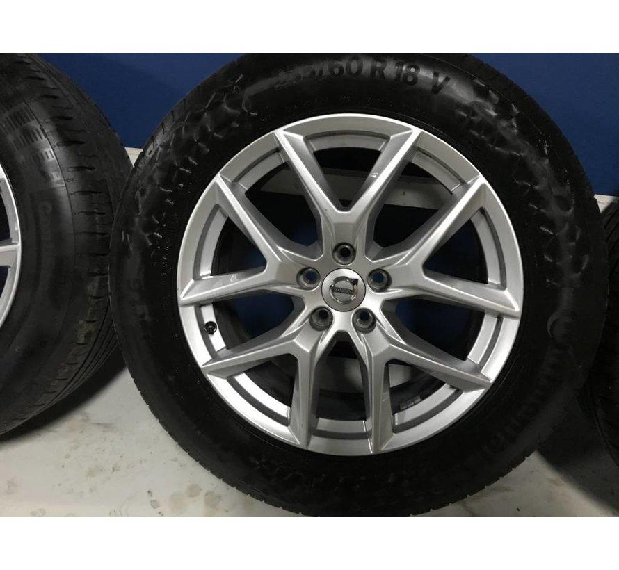 "Volvo 18"" 5-Y-Spoke Silver velgen + Continental zomerbanden XC60  >2016"