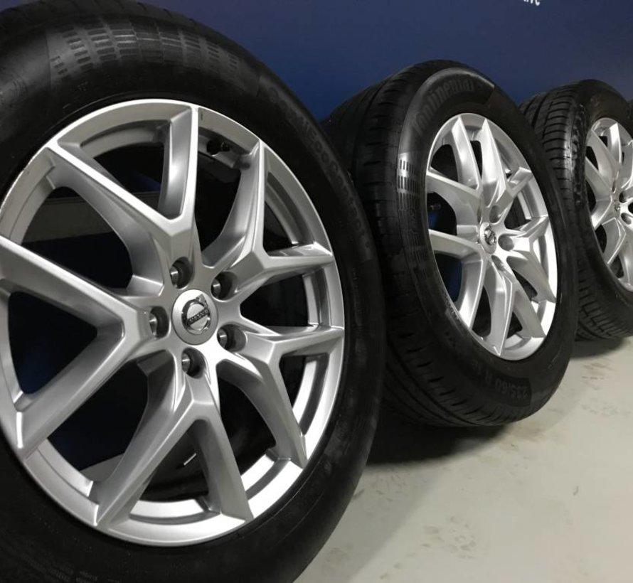 Volvo 18 inch 5-Y-Spoke Silver velgen + zomerbanden XC60 ll >2016