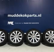 Volvo Volvo 19 inch 10-spaaks Turbine Silver velgen + Continental zomerbanden XC90 ll >2016