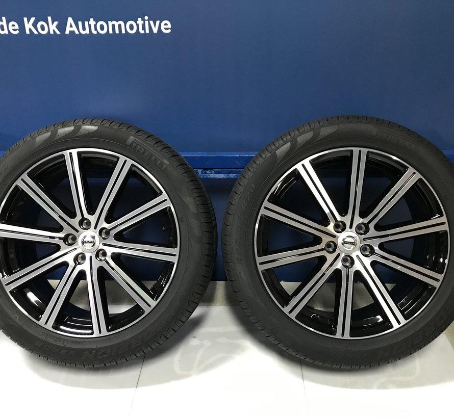 Volvo nieuwe 20 inch Titania II velgen + zomerbaden  XC60 tot 2017