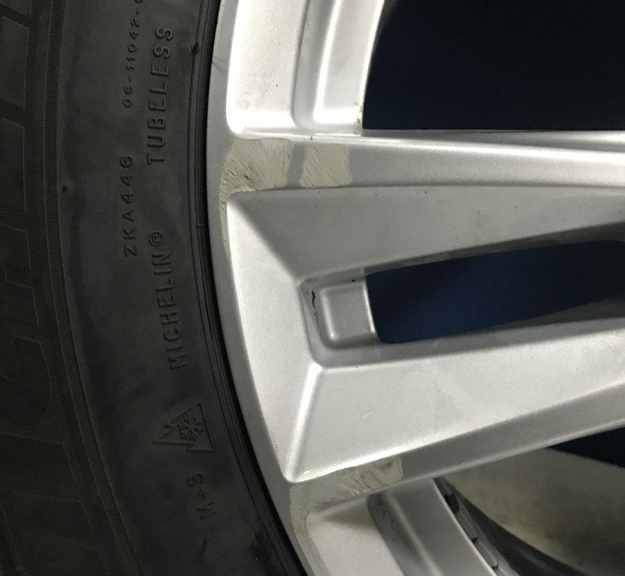 Volvo 18 inch 5 dubbel spaak velgen + winterbanden XC60 ll vanaf 2017