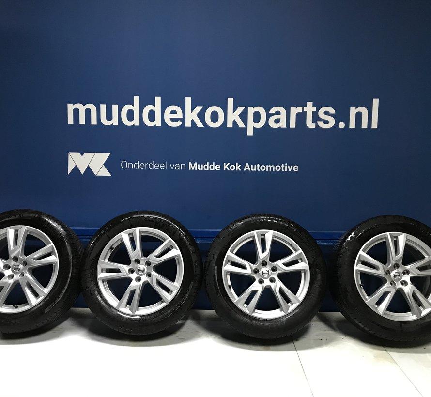 Volvo 18 inch 5 dubbel spaak velgen + zomerbanden V90CC  XC40