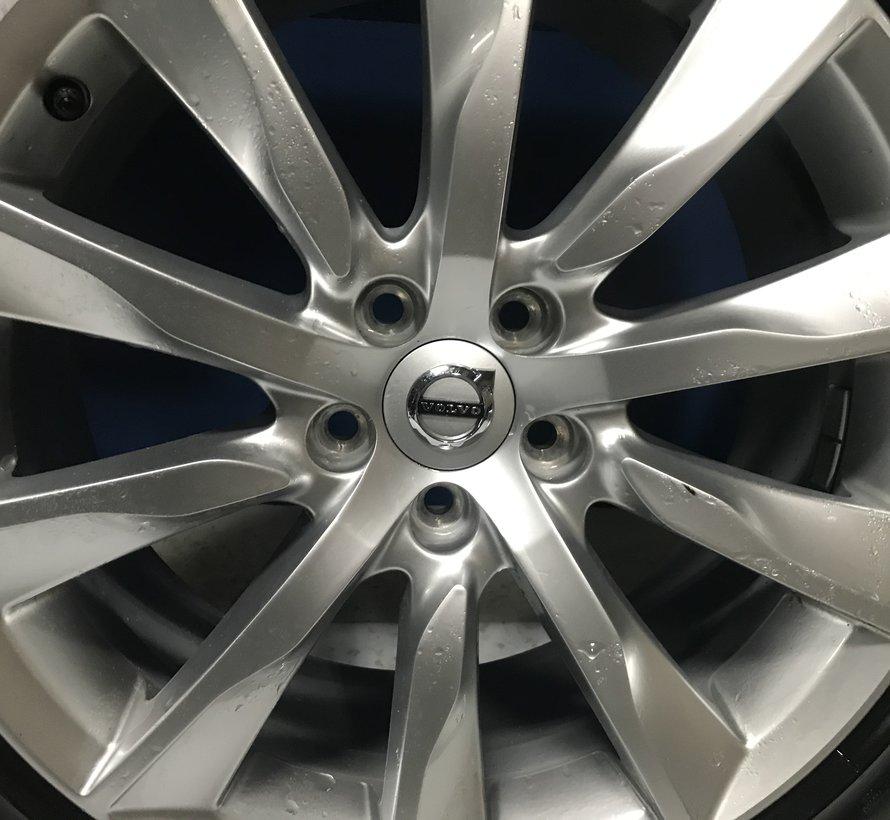 Volvo 18 inch 10-spaaks Turbine Silver velgen + zomerbanden V90 S90
