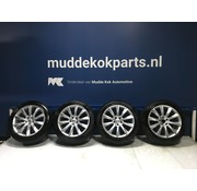"Volvo Volvo 18 "" 10-spaaks Turbine Silver velgen + Pirelli zomerbanden V90 S90"