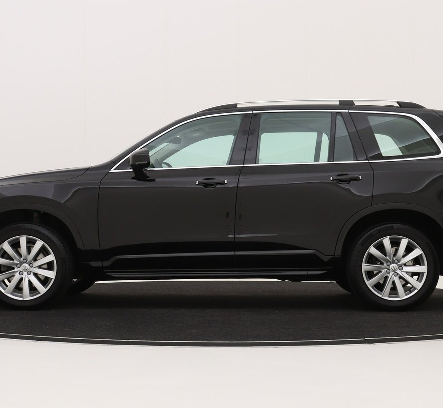 Volvo 19 inch 10-spaaks Turbine Silver velgen + Continental zomerbanden XC90 ll vanaf2016