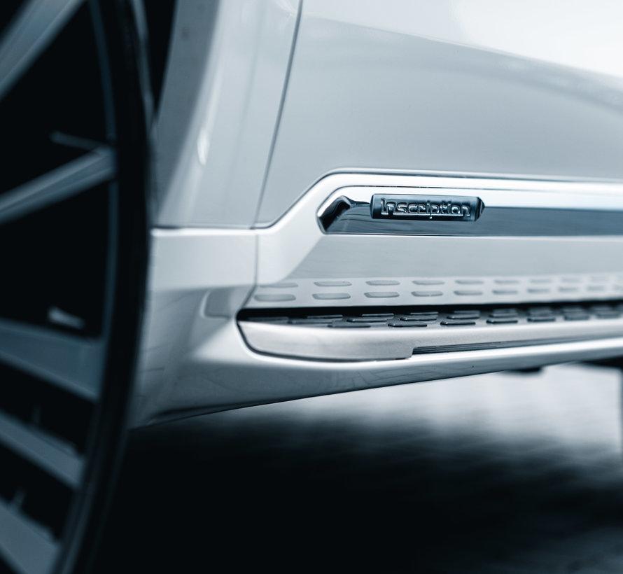 """Orgineel nieuwe geïntegreerd treeplank met instap verlichting """" Running Board """" Volvo XC90 ll vanaf 2015"""
