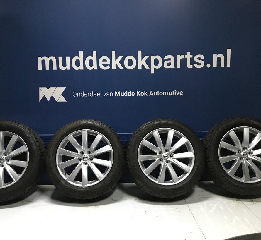 Volvo 19 inch 10 - spaaks turbine velgen + zomerbanden