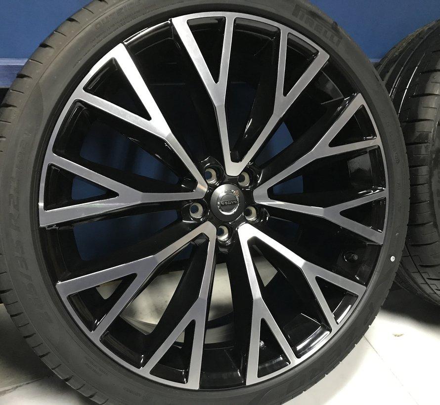 Volvo NIEUWE  22 inch XC60 10 open spaak velgen + Zomerbanden XC60 2017-