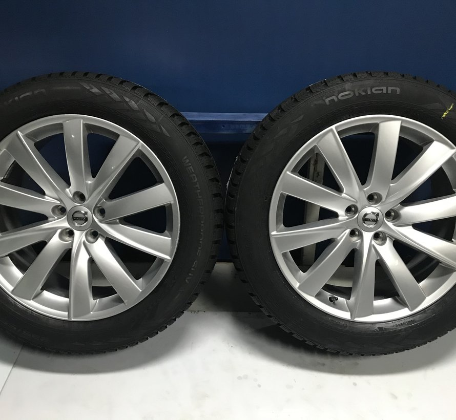 Volvo 19 inch 10 spaak velgen +Winterbanden XC90 2015 -