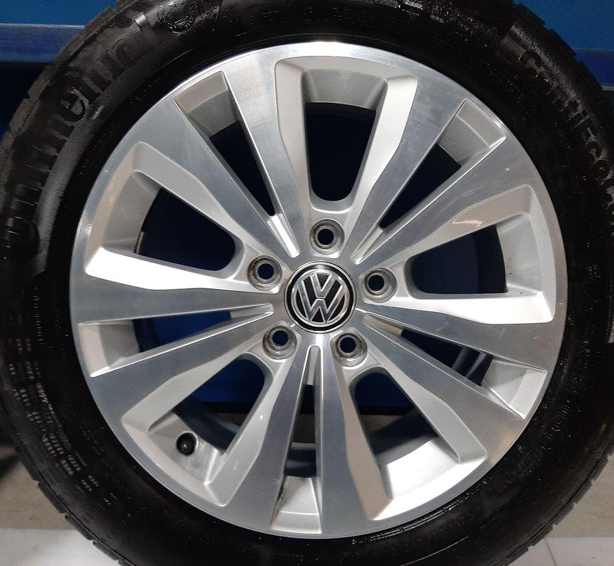 Volkswagen 16 inch Toronto velgen + Zomerbanden Golf 5 6 7