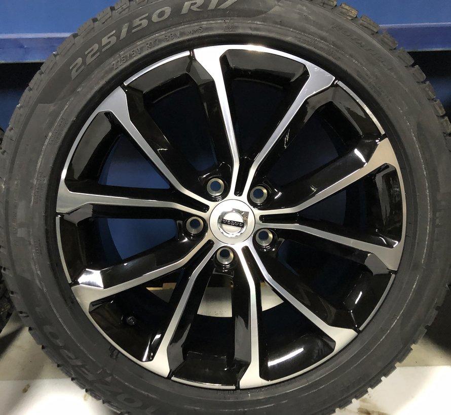 Volvo NIEUWE 17 velgen + Winterbanden V60 II / S60 III
