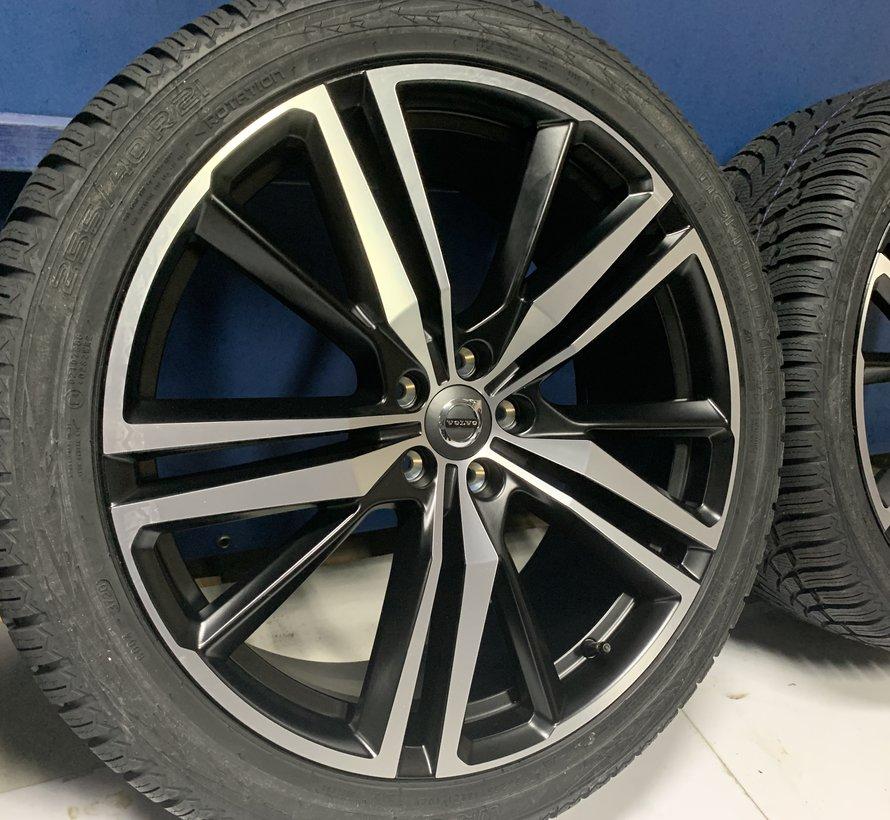 Volvo NIEUWE 21 inch R-design velgen + winterbanden XC60 2017-