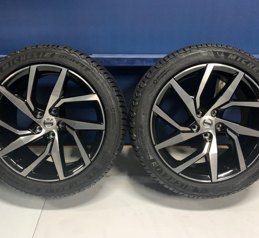 Volvo NIEUWE 18 inch velgen + Winterbanden V60 ll S60 lll vanaf 2018