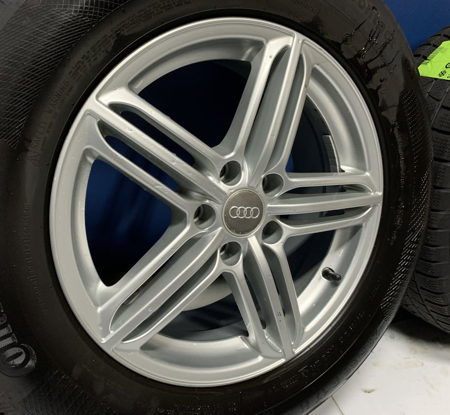 Audi Q 5 17 inch velgen + winterbanden